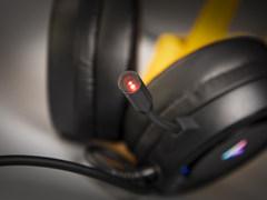 炫彩RGB 雷柏VH500虛擬7.1聲道游戲耳機開箱